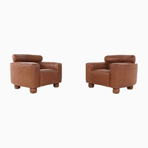 Vintage Lounge Chairs from de Sede, Set of 2