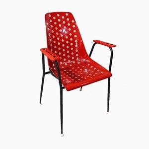Französischer Sessel von Fantasia St Tropez, 1950er