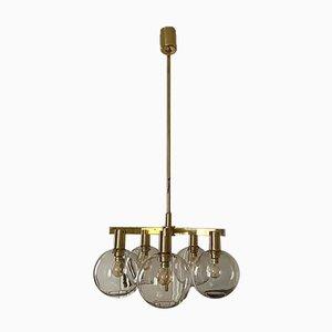 Lámpara de araña vintage de Hans-Agne Jakobsson, años 60