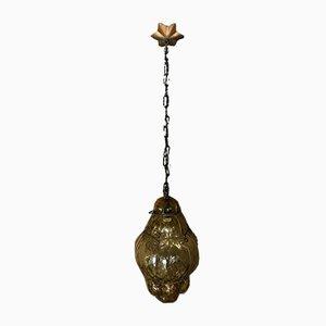 Mid-Century Murano Glass Ceiling Lamp