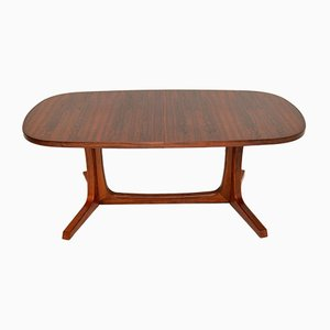 Danish Rosewood Extending Dining Table from Gudme Møbelfabrik, 1960s