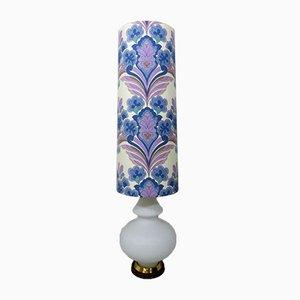Große Glas Stehlampe, 1960er
