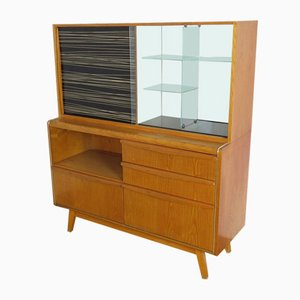 Cabinet with Bar by Landsman Bohumil for Jitona, 1960s
