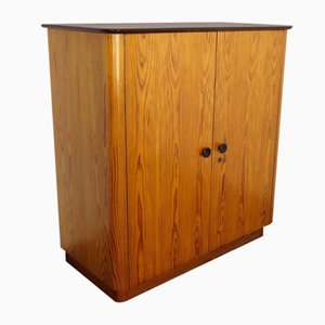 Wooden Cabinet by Jindřich Halabala for UP Závody, 1950s