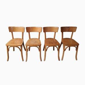 Esszimmerstühle von Luterma, 1950er, 4er Set