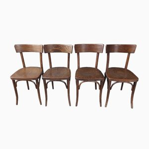 Dining Chairs from Thonet, 1950s, Set of 4