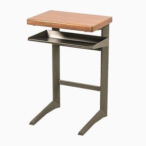 Vintage Linha Cortez Side Table by Daciano da Costa for Metalúrgica da Longra