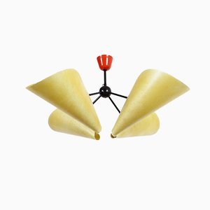 Ceiling Lamp by Josef Hurka for Napako, 1960s