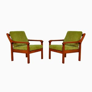 Danish Armchairs from EMC Furniture A/S, 1960s, Set of 2