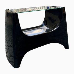 Space Age Fibreglass Side Table from Astarte, 1960s