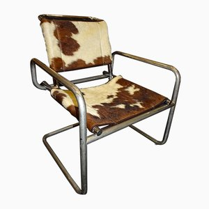 Vintage Armchair by Ludwig Mies van der Rohe for Knoll Inc. / Knoll International, 1970s