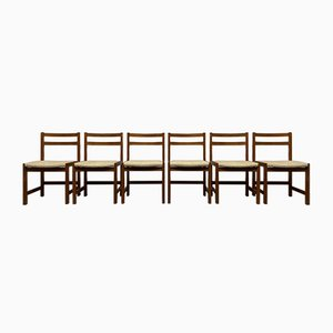 Mid-Century Swedish Teak Dining Chairs from Ulferts Möbler, Set of 6