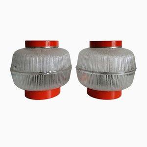 Mid-Century Tischlampen von Napako, 2er Set