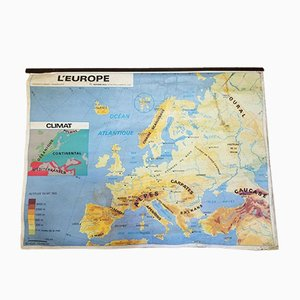 Poster of Europe from MDI, 1982