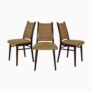 Mid-Century Chairs from Ton, 1960s, Set of 3