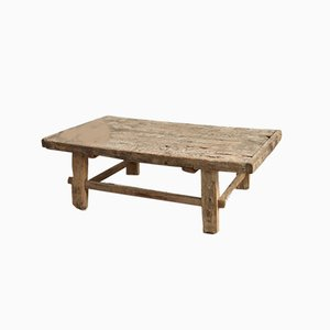 Antique Elm Coffee Table