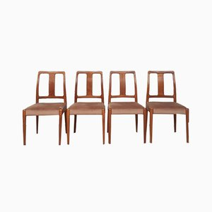 Mid-Century Danish Teak Dining Chairs from D-Scan, Set of 4