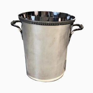 Silver Plated Champagne Bucket, France, 1930s