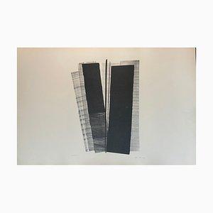 Hans Hartung, litografía, Farandoles Vi, 1971