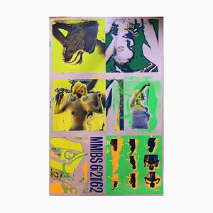 Bert Stern, Silkscreen the Last Session, Yellow, 1968