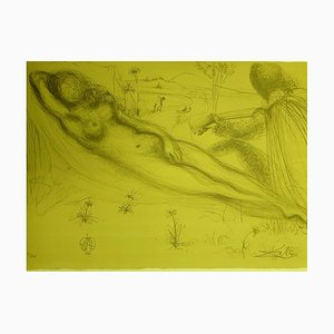 Salvador Dali, Serenade, Lithograph, 1970