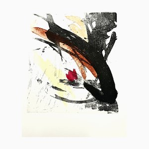 Jean Miotte, Abstrakte Komposition, Radierung, 1998