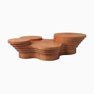Table Basse Sculpturale Wood Slice Me Up par Pietro Franceschini