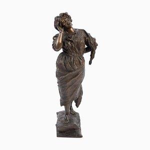 Bronze Soprano Sculpture by G. Porente