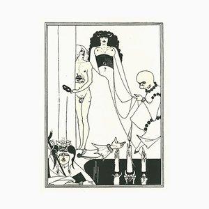 Aubrey Vincent Beardsley, Figure, Lithograph, 1970
