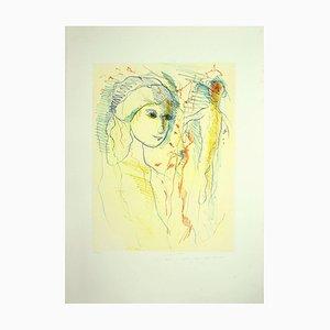 Lithographie Ernesto Treccani, 1970s