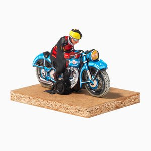 Dieter Roth, Motorcyclists, 1969, Signed Figurine