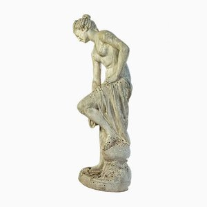 Christophe-Gabriel Allegrain, Bathing Venus, Large Garden Sculpture from Steinguß