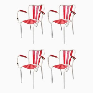 Garden Chairs, 1950s, Set of 4