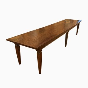 Large Antique Monastery Dining Table
