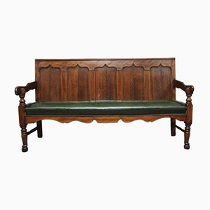 18th-Century Oak and Fruitwood Bench