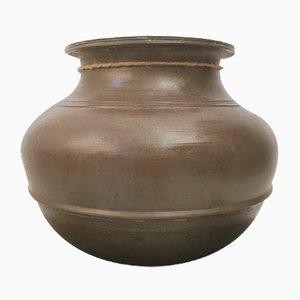 Small Tamil Nadu India Brass Pot