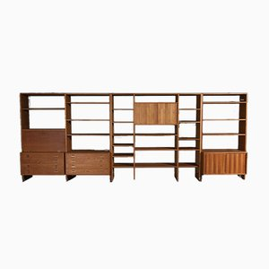 Model RY100 Wall Unit by Hans J. Wegner for Ry Møbler, 1970s