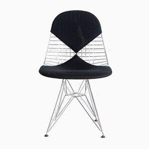 Sedia modello DKR-2 a rete di Charles & Ray Eames per Vitra, anni '60
