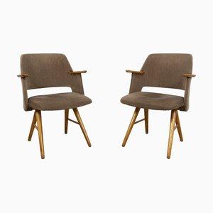 Modell FE30 Esszimmerstühle von Cees Braakman für Pastoe, 1950er, 2er Set