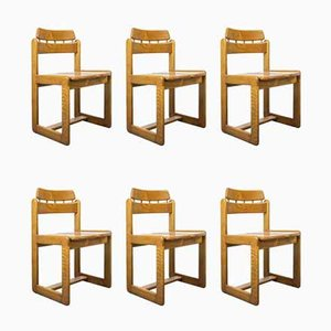 Dining Chairs by Ilmari Tapiovaara for Fratelli Montina, 1970s, Set of 6
