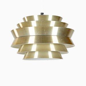 Lampada da soffitto Trava di Carl Thore / Sigurd Lindkvist per Granhaga Metallindustri, anni '60