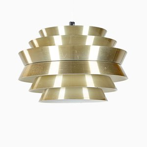 Trava Ceiling Lamp by Carl Thore / Sigurd Lindkvist for Granhaga Metallindustri, 1960s