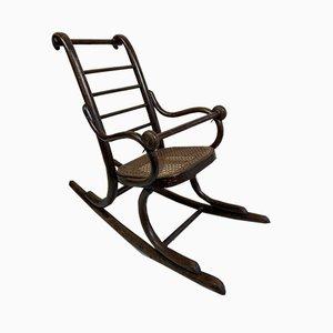 Sedia a dondolo da bambino di Thonet, anni '20