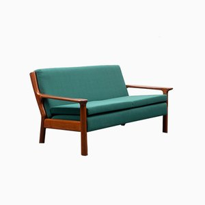 Teak 2-Seater Sofa, 1970s
