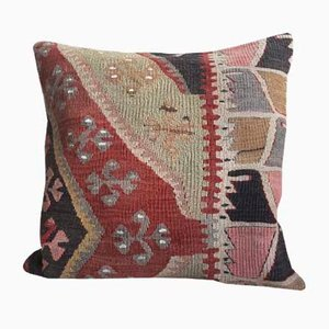 Vintage Anatolian Kilim Cushion with Insert