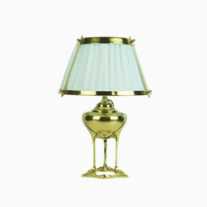 Antique Table Lamp by Dufrêne Maurice for Maison Moderne