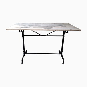 Antique Marble Bar Table