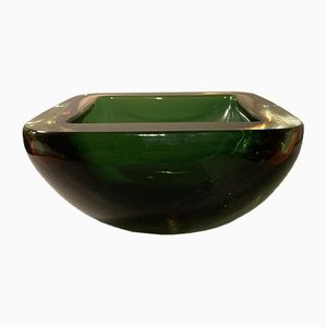 Murano Thick-Walled Glass Bowl by Flavio Poli, 1960s