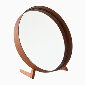 Teak Mirror by Uno & Östen Kristiansson for Luxus, 1960s
