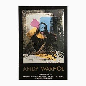 Affiche Andy Warhol, Last Supper, Rare par Alexandre Iolas, 1984